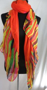 long stripes maxi long fashion scarves sarong wrap.