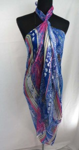 boho paisley maxi long fashion scarves sarong wrap