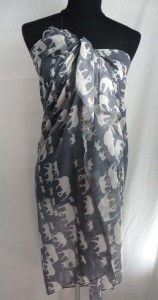 lucky elephant maxi long fashion scarves sarong wrap