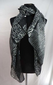 animal print leopard cheetah zebra maxi long fashion scarves sarong wrap