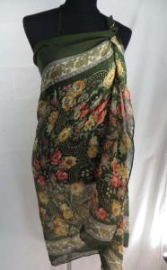 retro vintage style rose flower maxi long fashion scarves sarong wrap