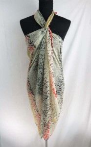 geometric print maxi long fashion scarves sarong wrap