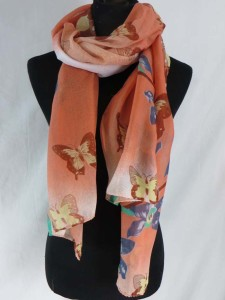 beautiful butterfly fashion scarves