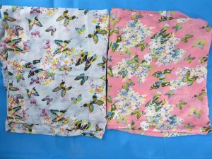 beautiful flying butterfly fashion scarves