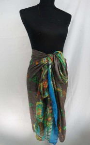 boho vintage paisley design maxi long fashion scarves sarong wrap