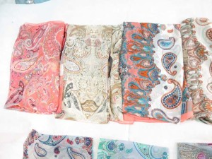silky chiffon boho paisley maxi long fashion scarves sarong wrap