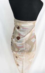 silky chiffon animal skin retro print maxi long fashion scarves sarong wrap