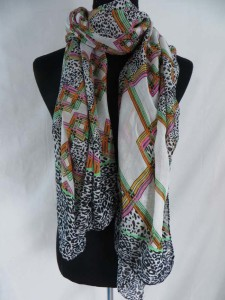 vintage boho tiles fashion scarves