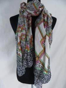 vintage boho tiles fashion scarves