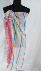 abstract design fashion scarves