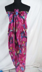 tropical print fashion scarves