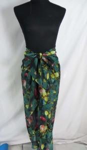 tropical print fashion scarves