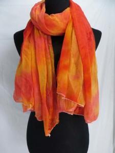 tie dye sheer scarf wrap shawls