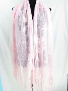 long fringed reindeer scarf wrap