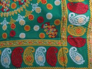 Vintage retro boho design large square scarves shawl wrap stole