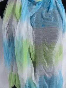 tie dye sheer scarves