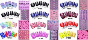 wholesale 3D self-adhesive nail art sticker