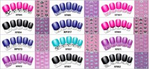wholesale 3D self-adhesive nail art sticker