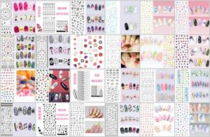 wholesale water transfer nail decal