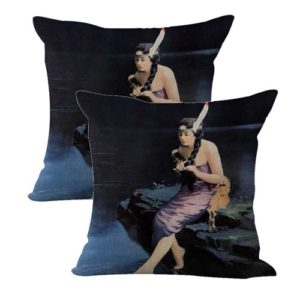 set of 2 Arthur James Minnehaha art print cushion cover
