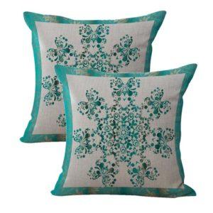 set of 2 boho mandala ethnic decoration cushion cover