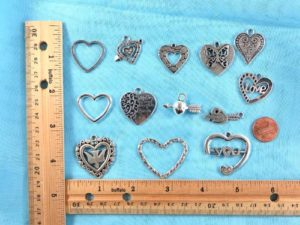 wholesale heart love pendants charms Jewelry findings for DIY scarves with jewelry, DIY necklace and more Mixed designs randomly picked by our warehouse staffs. (some designs may be repeated)