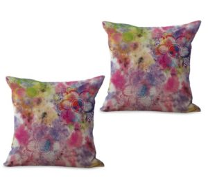 set of 2 bohemian mandala cushion cover