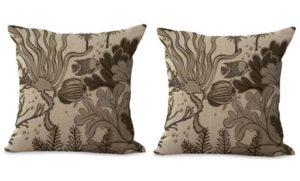 set of 2 marine nautical cushion cover