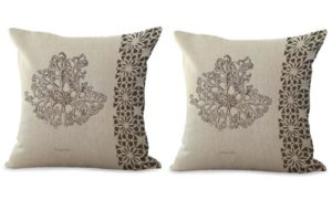 set of 2 marine nautical sea star starfish cushion cover