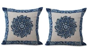 set of 2 mandala unity harmony cushion cover