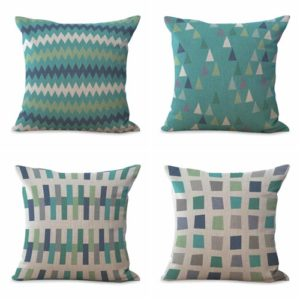 cushion covers geometric contemporary We will randomly choose various designs shown on the pictures. Pillow case only, insert is not included.