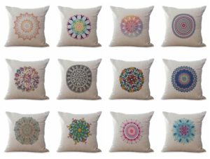 wholesale cushion covers bohemian mandala We will randomly choose various designs shown on the pictures.Pillow case only, insert is not included.