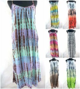 handmade long dress beach dress Bali rayon Package included: 10 dresses, some designs will be repeated.