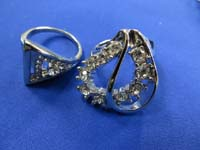 cz crystal fashion rings in assorted designs