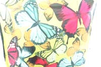 butterfly garden theme polyester scarf shawl pareo