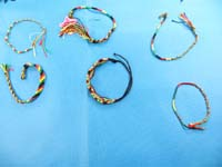 mixed designs reggae rasta bracelet jewelry