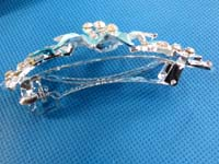 beautiful rhinestone crystal hair barrette hair clips
