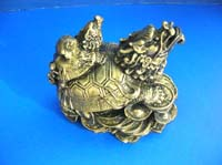 Chinese Fei Shui lucky animal with dragon head statue