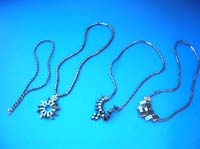 Fashion non magnetic hematite necklace, randomly picked by our warehouse staffs