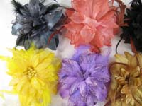 feather-glitter-flower-corsage-brooch-pin-ponytail-holder-mix-color-b