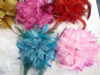 feather-glitter-flower-corsage-brooch-pin-ponytail-holder-mix-color-d