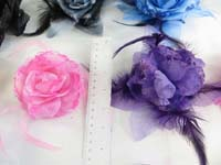 rose-feather-glitter-corsage-brooch-pin-ponytail-holder-mix-color-j