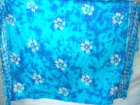 monocolor mixed color sarong screen printings with leaves, sun, dolphin, seashell, palm leaves etc tropical designs