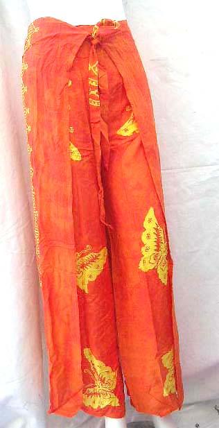 Summer Clothing Pants Wholesale Wrap Pants Thai Wrap