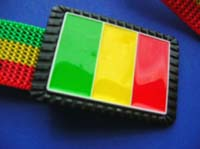 Rastafari Flag Buckle And Rasta Canvas Belt