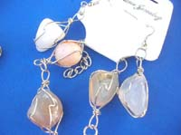 wired-agate-stone-bead-jewelryset5e