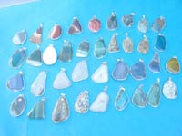 Assorted fashion gemstone pendant