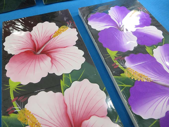 Hibiscus Flower Oil Painting Canvas 1g