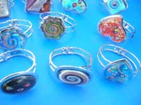Assorted design fashion hinged bangle