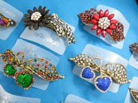 hair-barrette-rhinestone-crystal-retro-3d